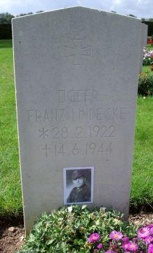 Hottot les bagues war cemetery