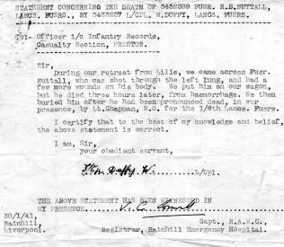 Warneton fus ronald bainbridge nuttall 1919 28051940 for his nephew ronald j nuttall thecheapjerseys Images